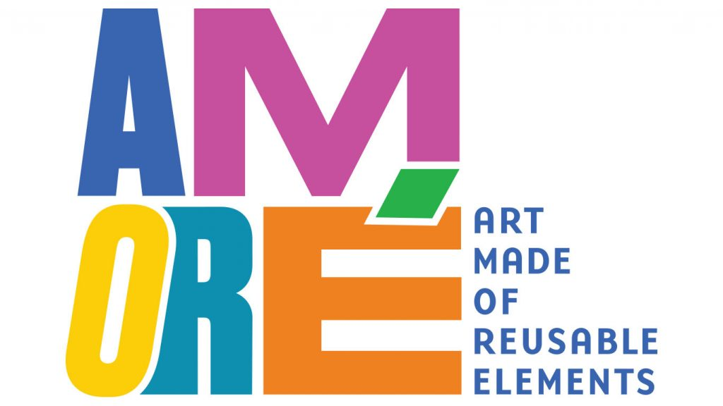 Graphic for AMORE Art Made of Reusable Elements event