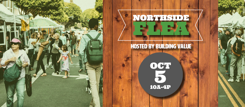 Northside Flea October 5 from 10am - 4pm